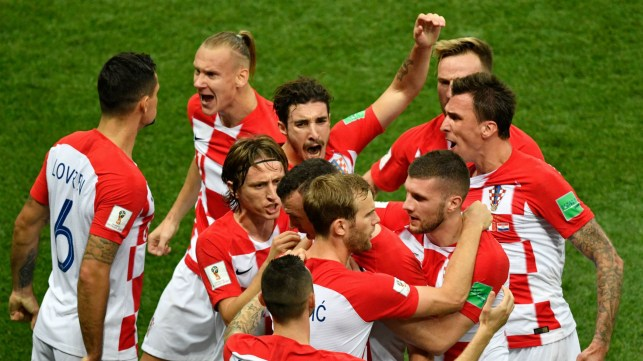 Image result for croatia world cup final