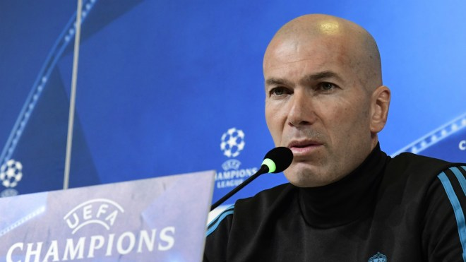 Zinedine Zidane, Juventus Real Madrid, UEFA Champions League, press conference