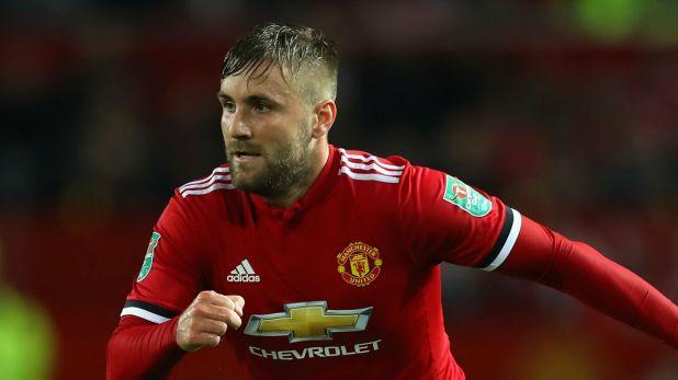 Luke Shaw Manchester United 200917