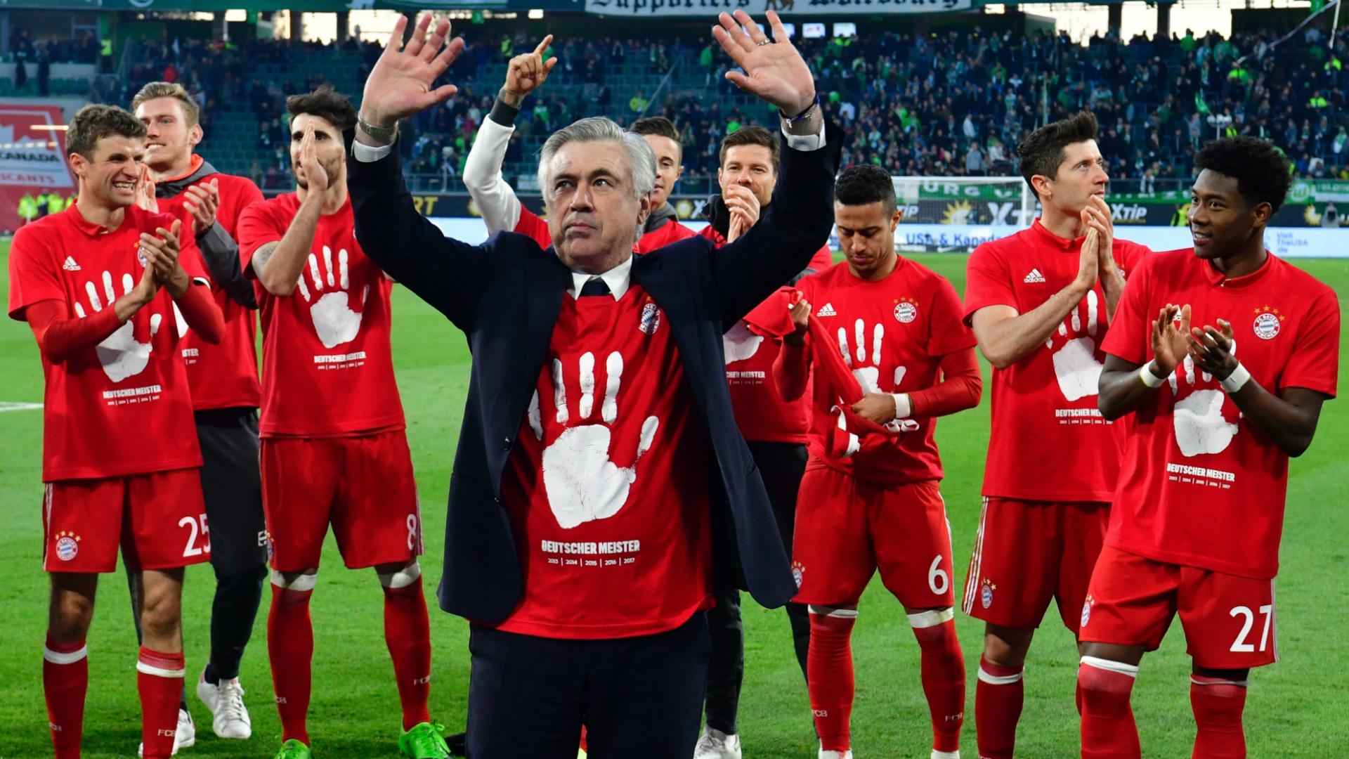 Carlo Ancelotti Bayern Munich Bundesliga