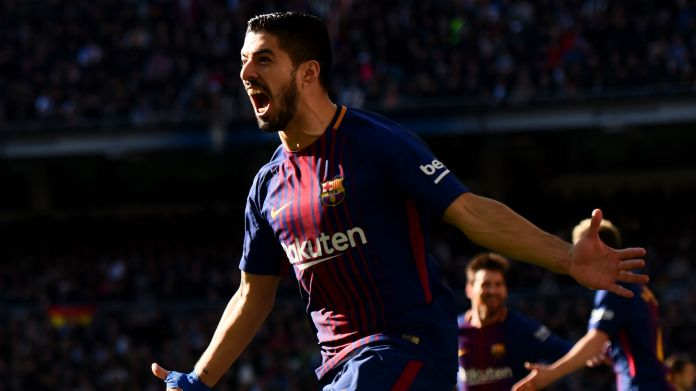 Luis Suarez Barcelona Real Madrid