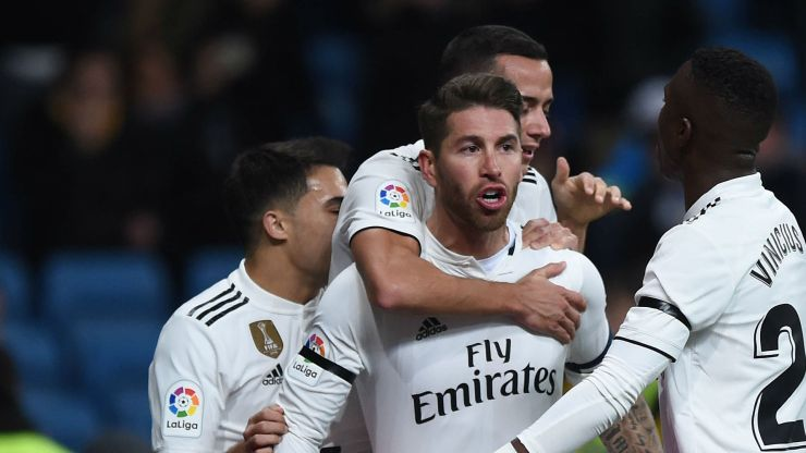 Real Madrid boss, Solari responds to Guardiola's comment on the BEST CLUB ramos real madrid 2018 19 1vel01g08jnd61p9k6eb03qbzb