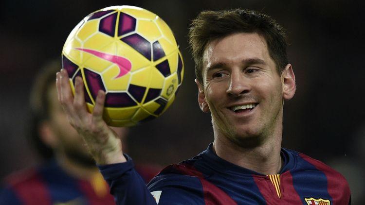 Lionel Messi Barcelona hat-trick