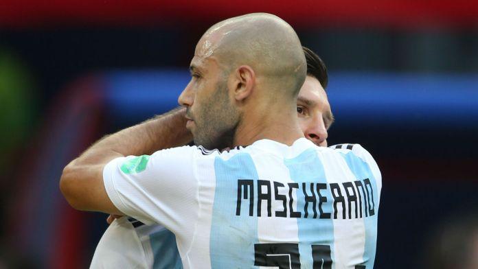 Mondial: Javier Mascherano annonce sa retraite internationale