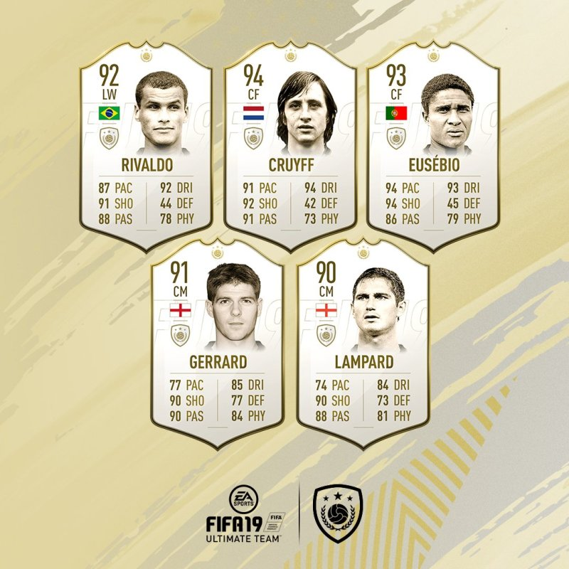 Embed only FIFA 19 Icons