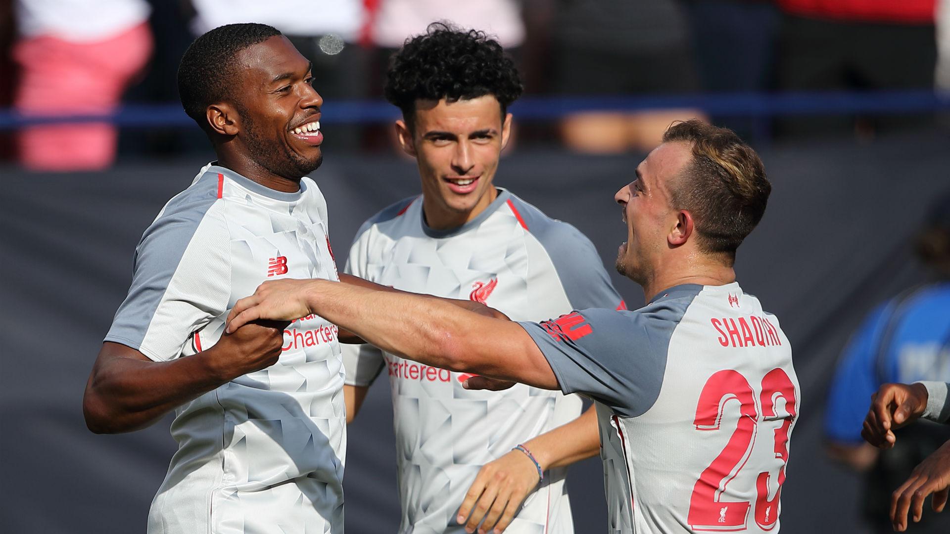 Daniel Sturridge Xherdan Shaqiri Liverpool ICC 2018