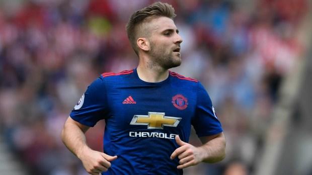 Luke Shaw Manchester United Premier League