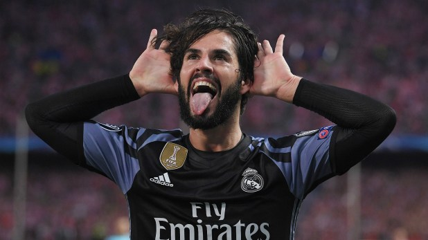 Isco Alarcon Atletico Madrid Real Madrid UEFA Champions League