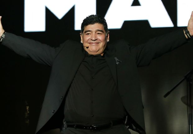 Maradona congratulates former club Argentinos Juniors on promotion