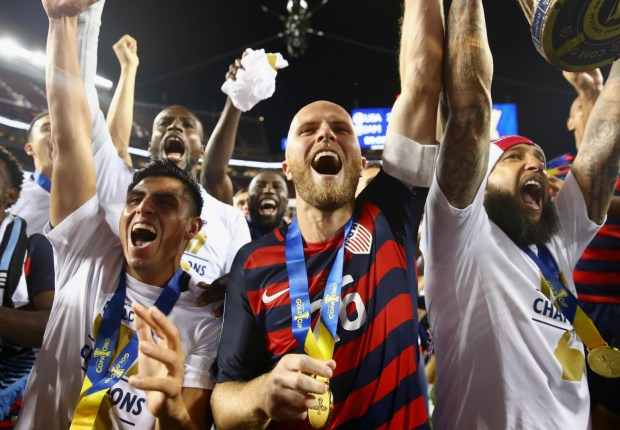 Bradley claims Gold Cup Golden Ball honors