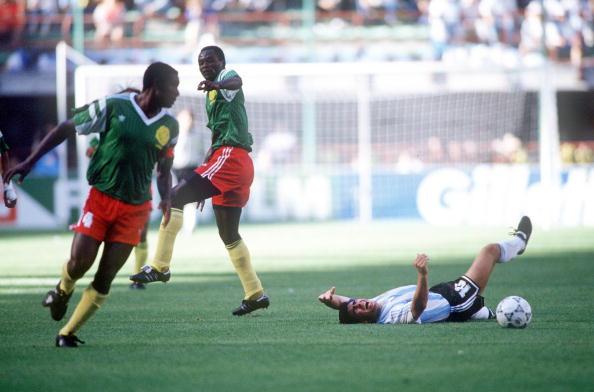 Argentina Cameroon 1990