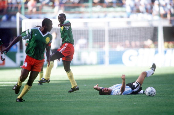 Argentina Cameroon 1990