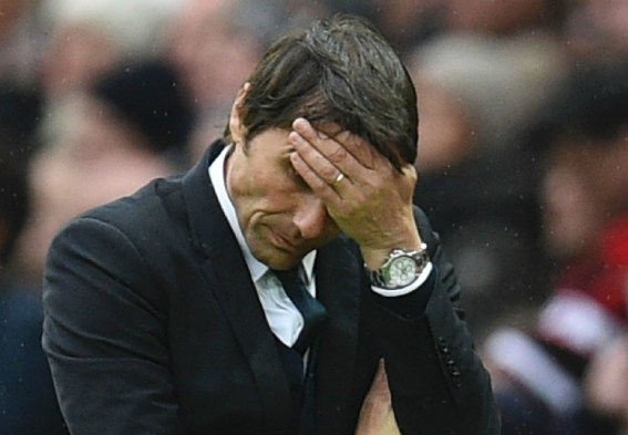 Image result for 'Where was Conte?' - Neville slams subdued Chelsea boss for role in Man Utd defeat