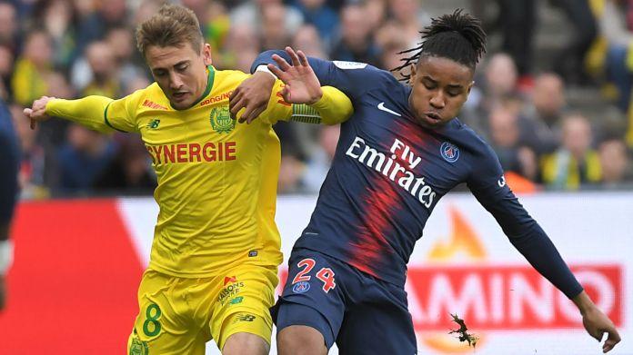 Christopher Nkunku Valentin Rongier Nantes PSG Ligue 1 17042019