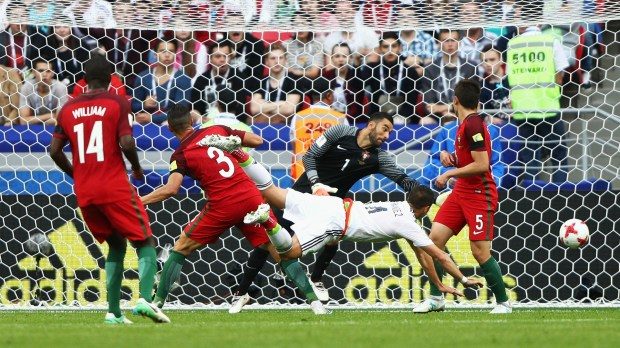 Chicharito Hernandez Portugal Mexico Confederations Cup