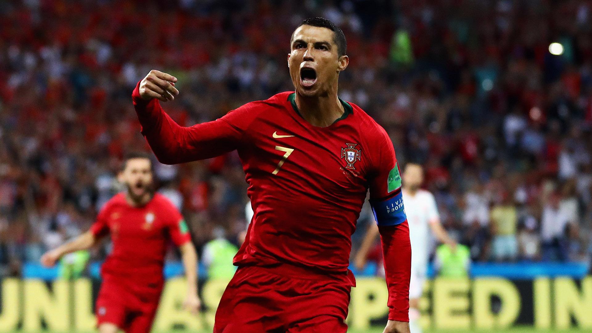Cristiano Ronaldo Portugal Spain Messi and Ronaldo