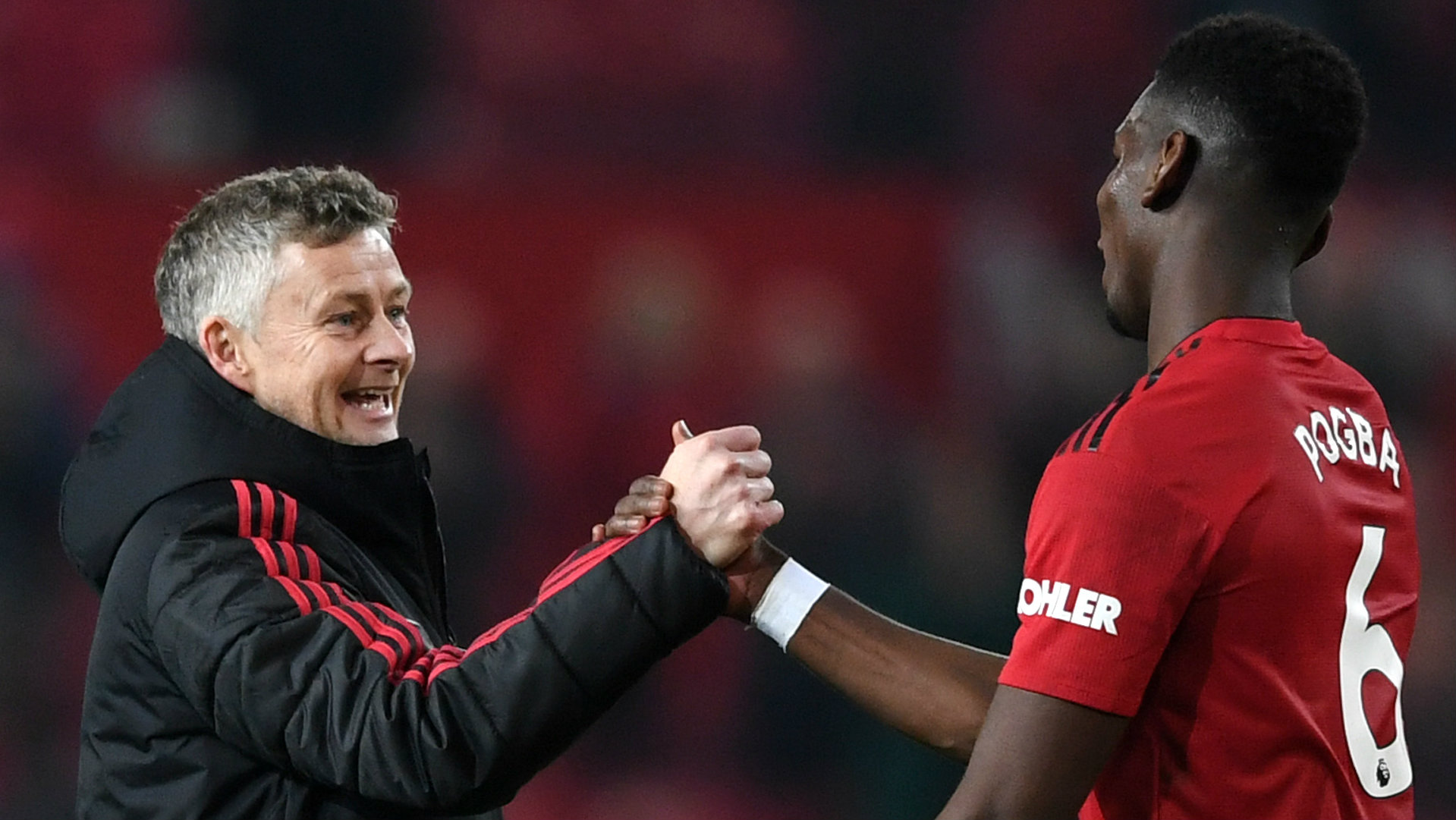 Pogba & Solskjaer put smiles on Man Utd fans' faces again