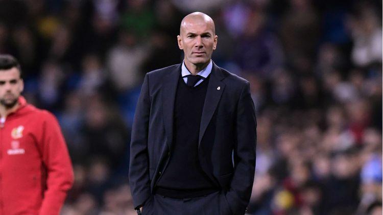 Zinedine Zidane Real Madrid Leganes