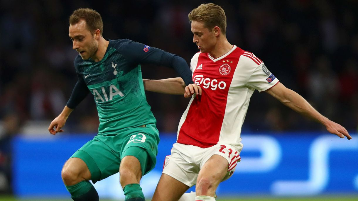 De Jong likens Ajax loss to a fairytale with an sad ending 1