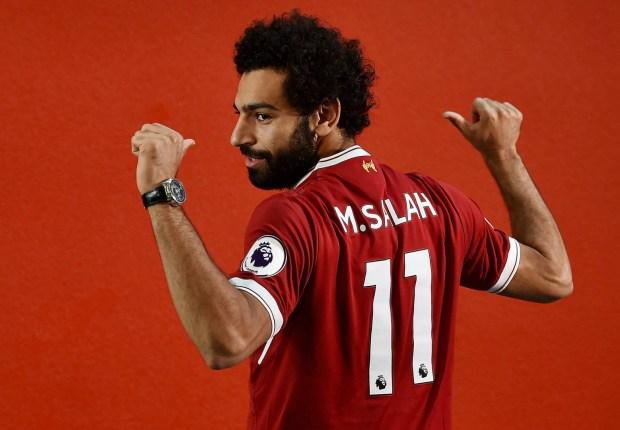 Salah gets Liverpool's No. 11 shirt as Firmino takes 9