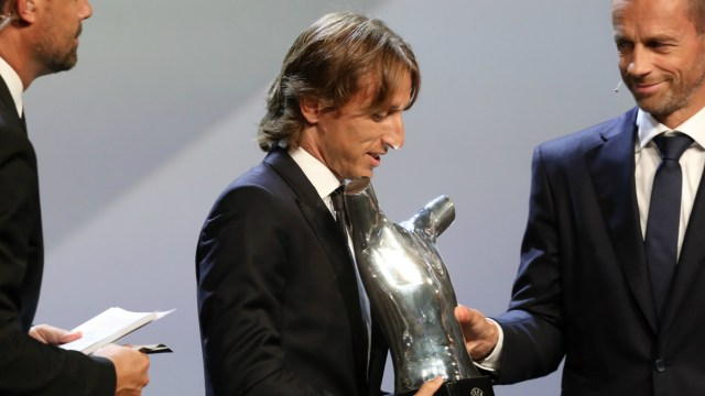 Luka Modric UEFA Player of the Year