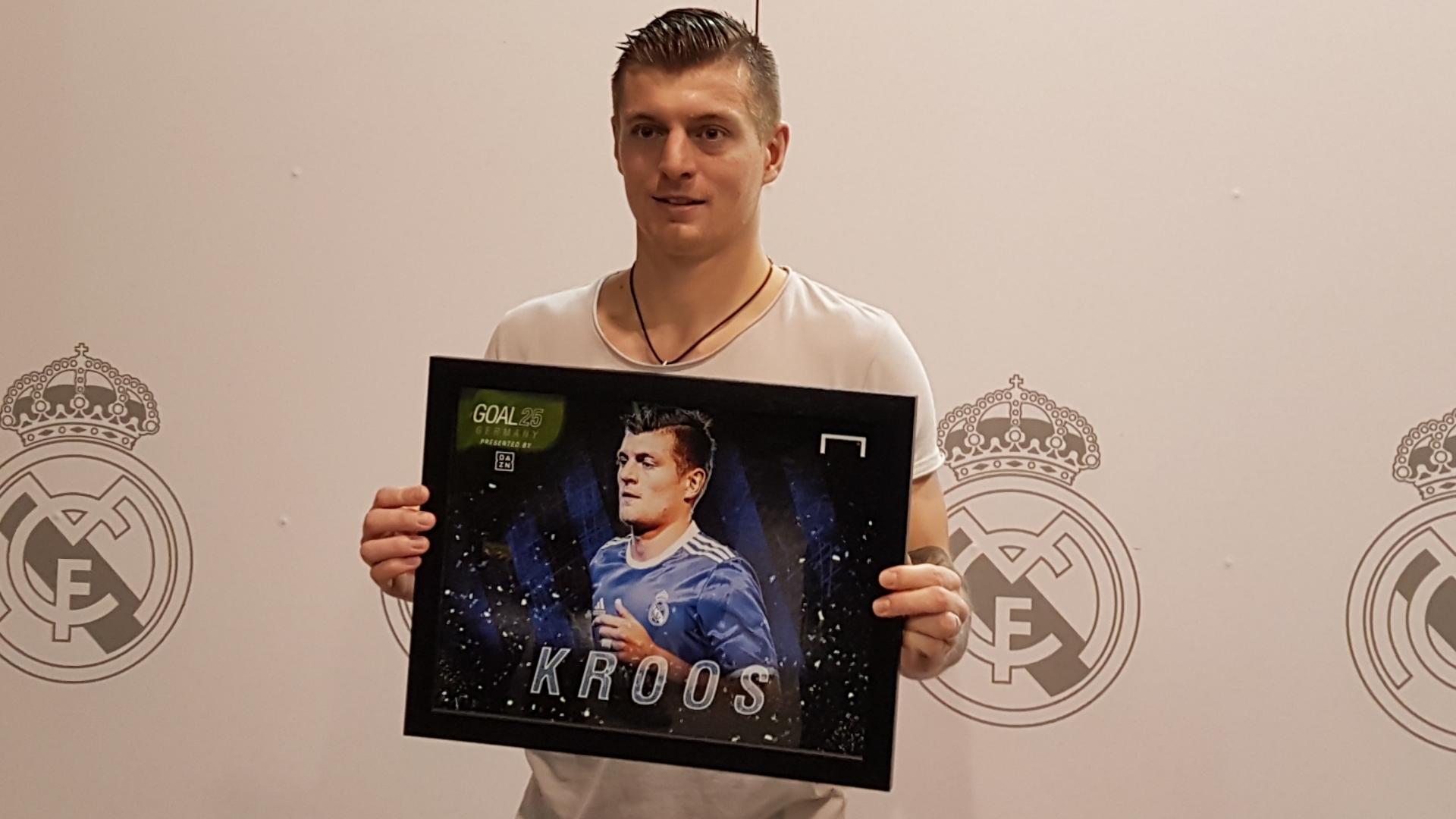 """Exclusivo - Toni Kroos: """"o melhor jogador é a equipe"""""""