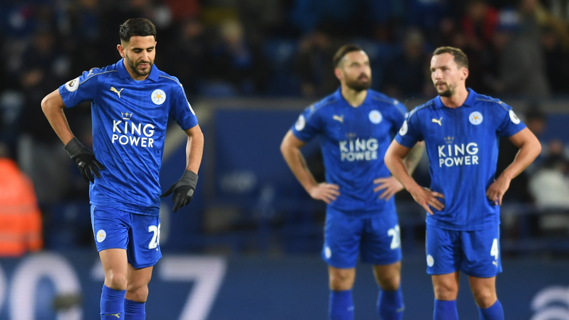 Image result for leicester city dejected