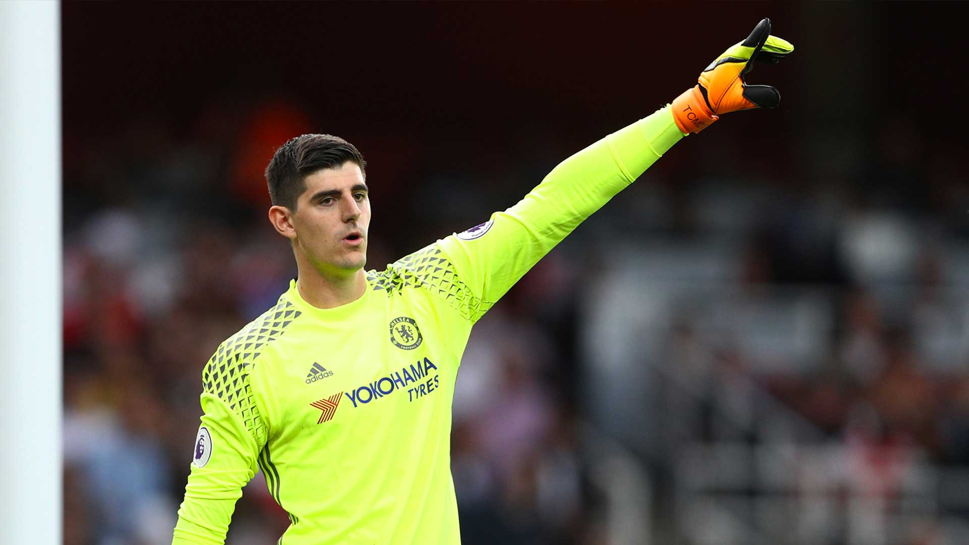 Image result for thibaut courtois 2017