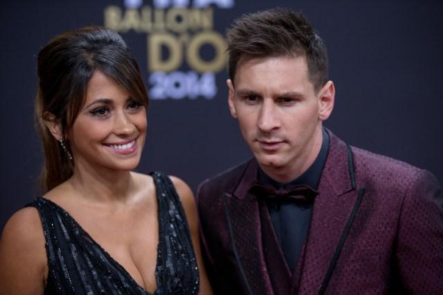 Image result for Antonella Roccuzzo (Lionel Messi)