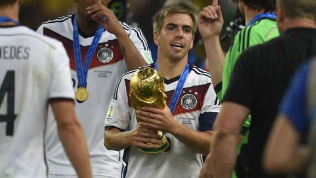 Philipp Lahm Germany Argentina Fifa World Cup Brazil Final 13072014