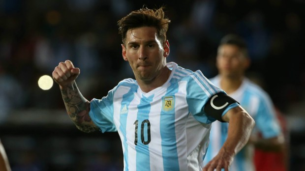 Argentina captain Lionel Messi is from another planet ...