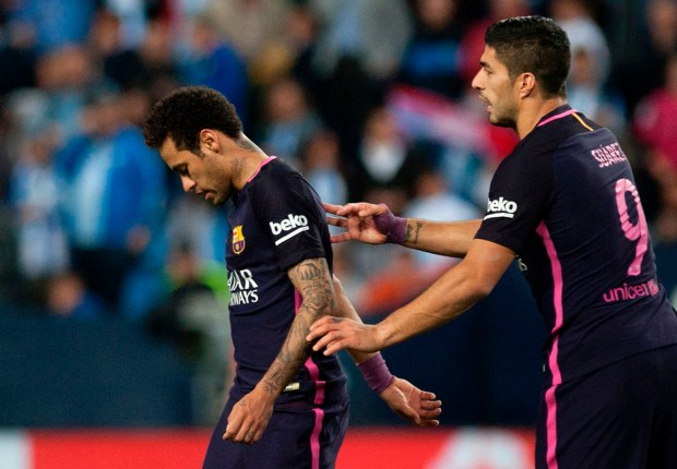 'It will be a pity if he leaves Barcelona' - Luis Suarez hopeful Neymar will stay at Camp Nou