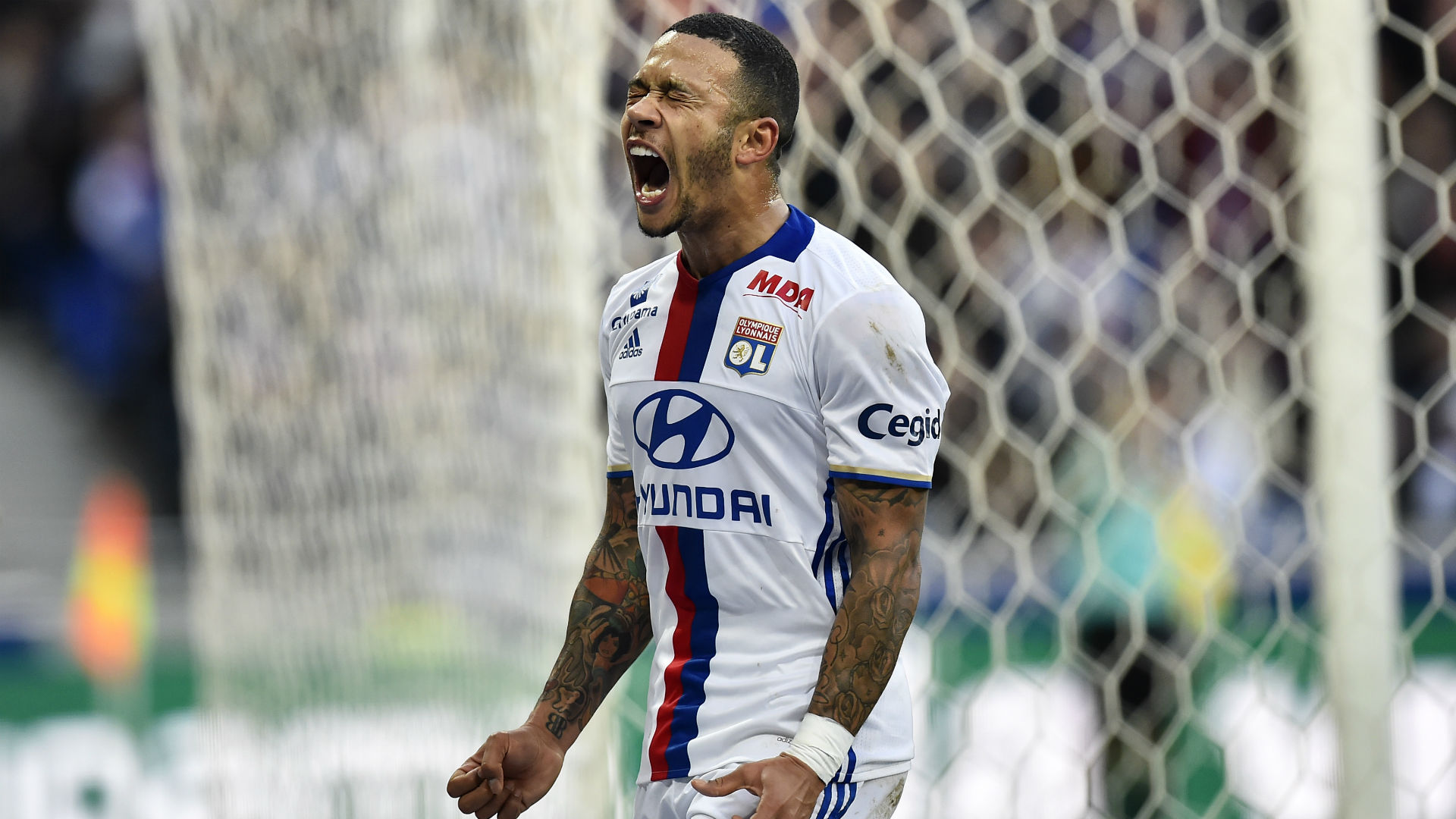 Image result for memphis depay lyon