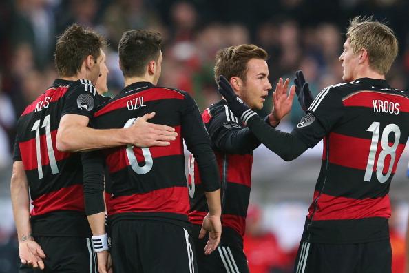 德國23人世界盃名單公佈 舒姆沙無緣巴西 - Goal.com