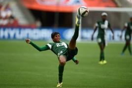 Image result for PSG defender Ngozi Ebere joins Falcons Camp