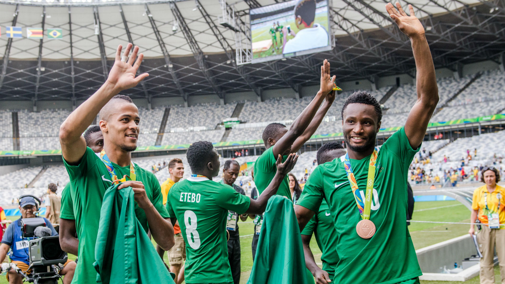 Nigeria equal East Germany, Hungary and Yugoslavia Olympic record