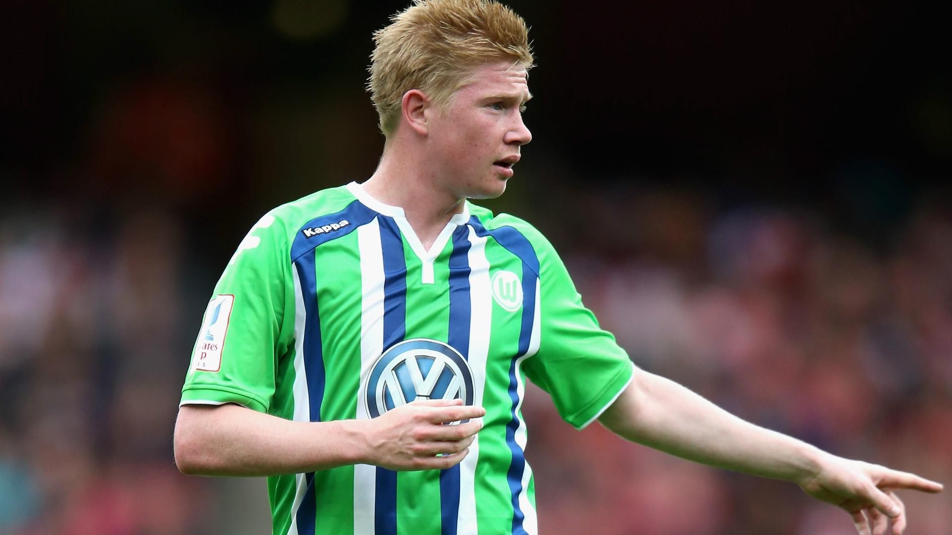 Kevin De Bruyne foi o grande nome do Wolfsburg na última temporada