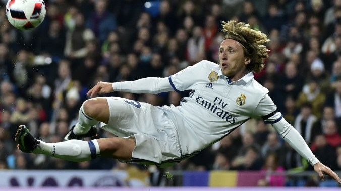 Modric named Croatian Player of the Year for the fifth time