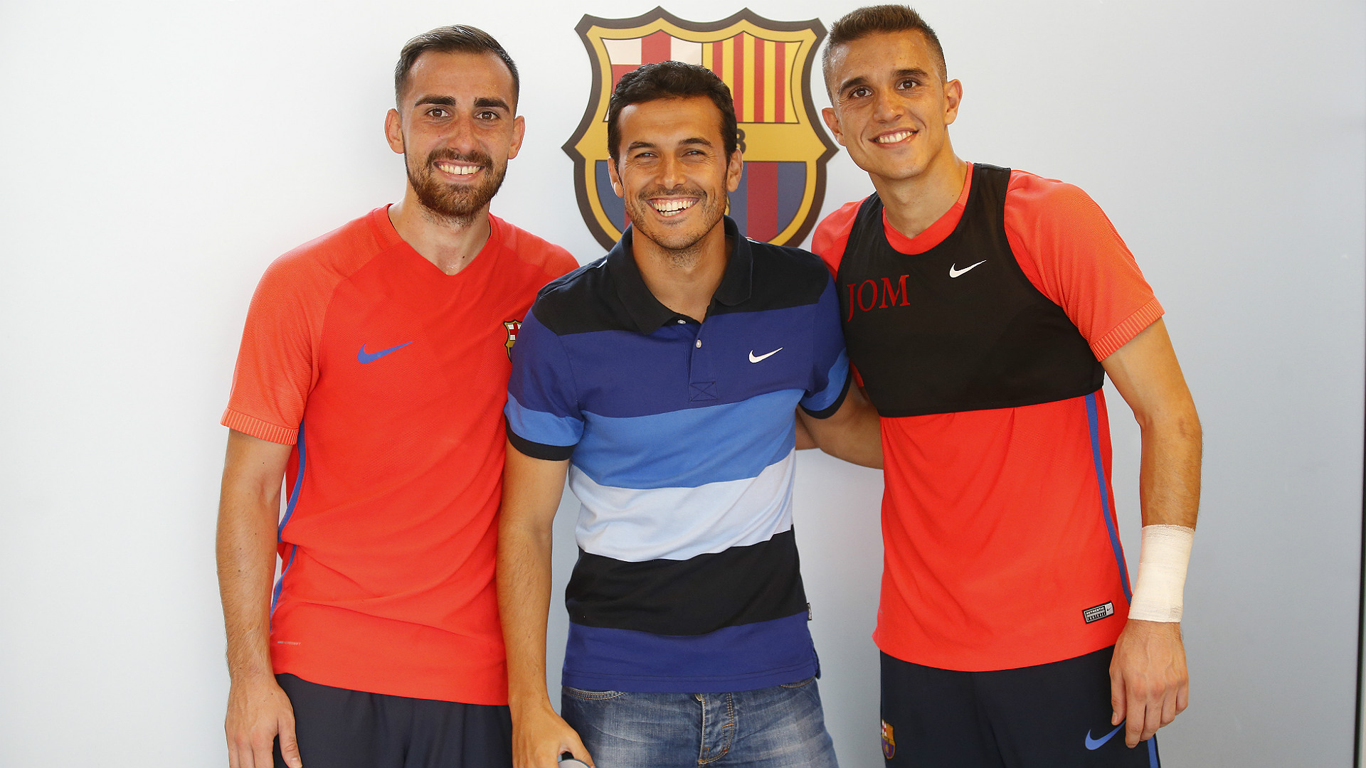 Pedro returns to Barcelona