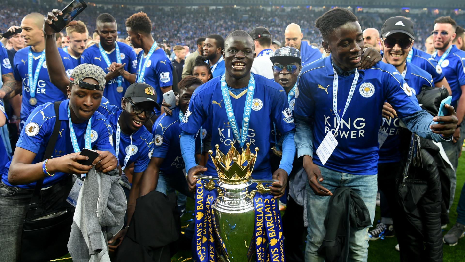 HD N'Golo Kante Leicester City Premier League