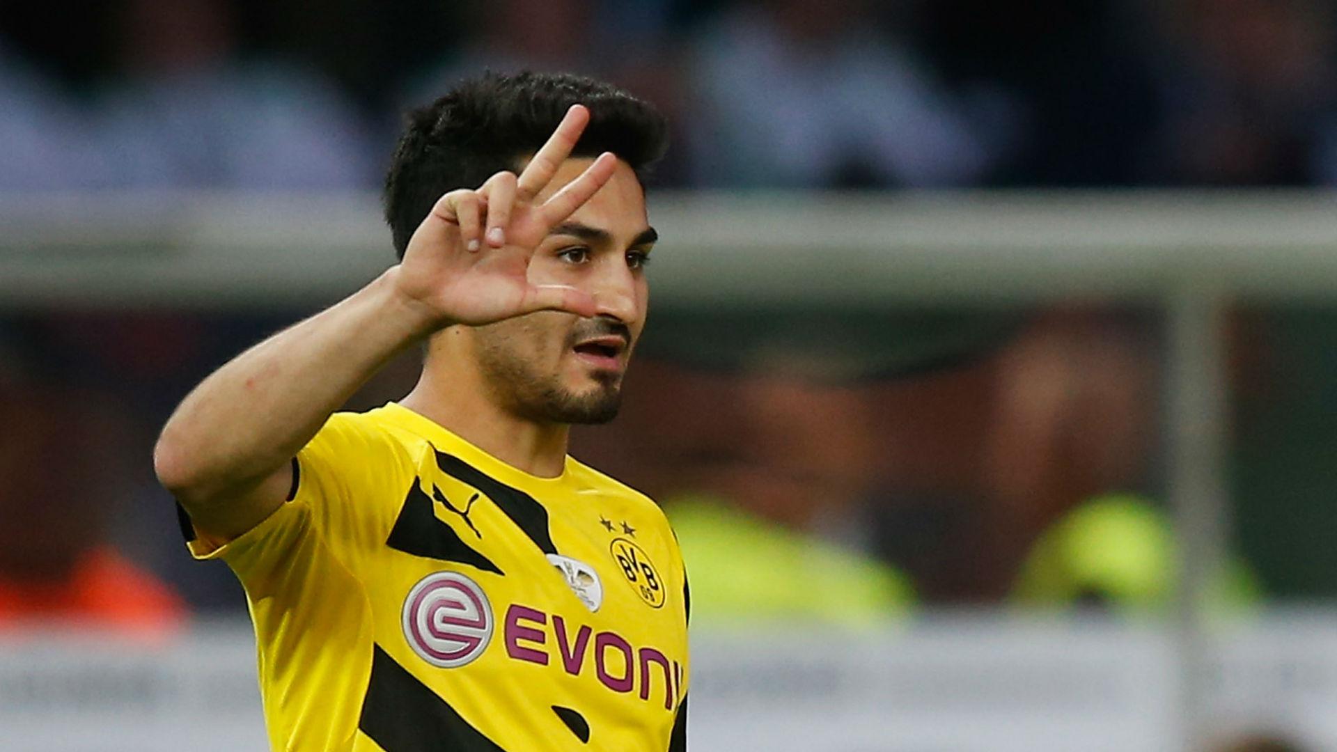 Dortmund está aberto a novas negociações com Gundogan