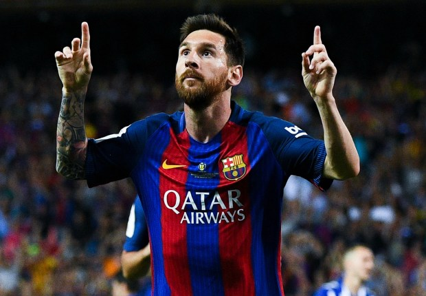 Lionel Messi agrees new Barcelona contract
