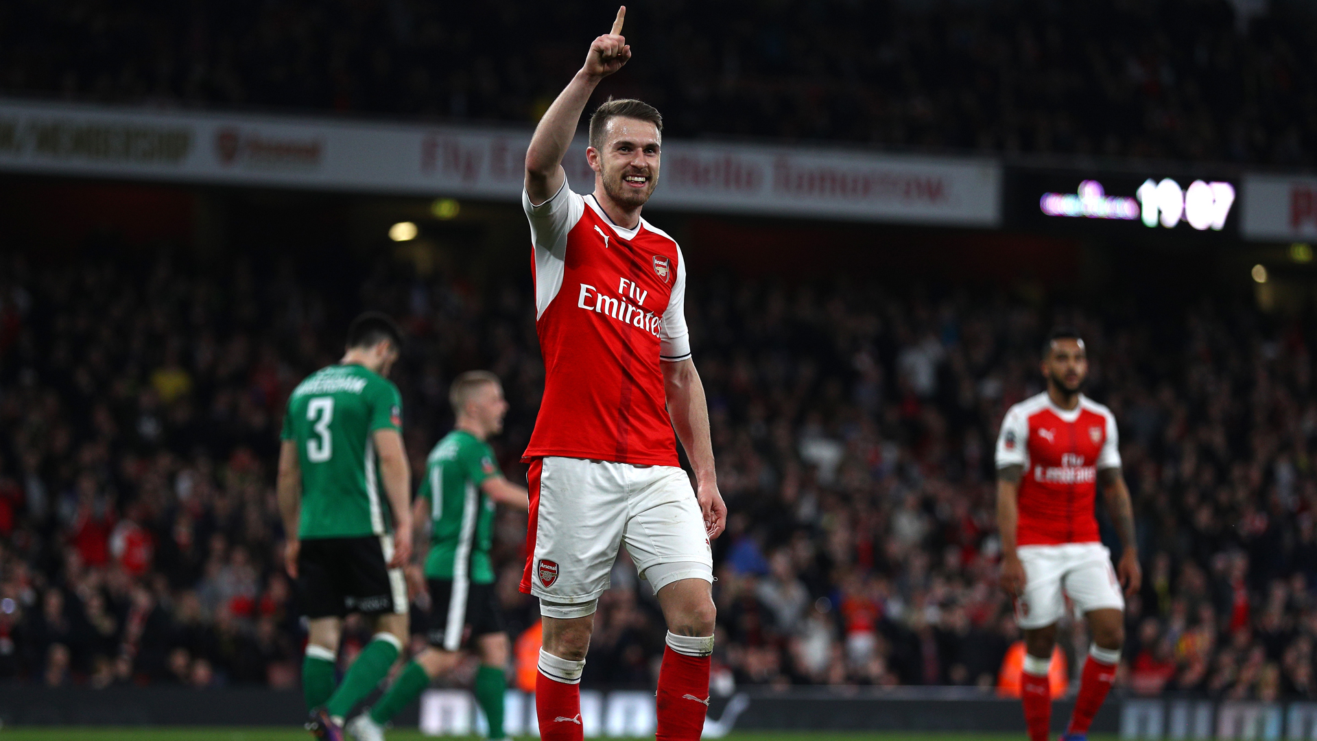 'He is a Frank Lampard type' - Wenger compares Ramsey to former Chelsea star