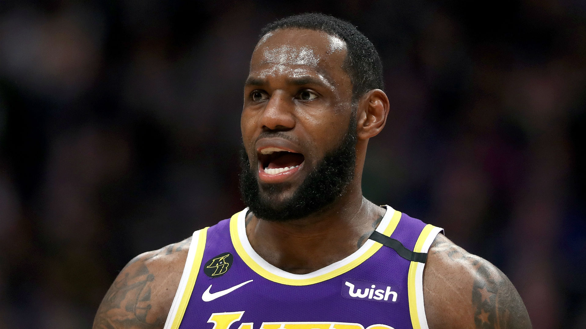 LeBron James: Lakers not thinking about seeding for playoffs