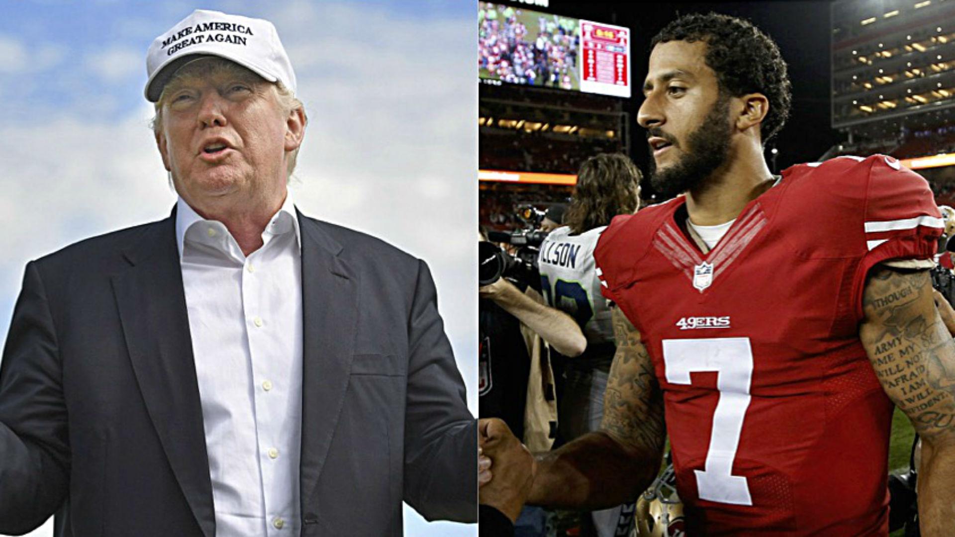 Donald Trump, Colin Kaepernick