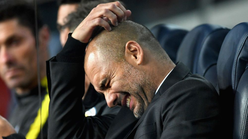 Guardiola laments Bravo red after heavy Barca defeat
