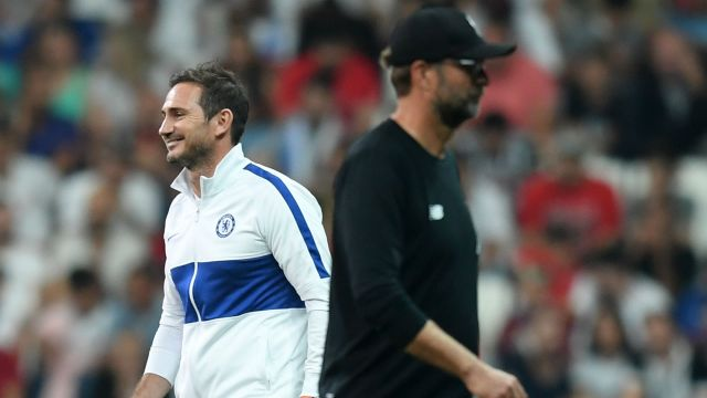 Lampard relishing chance to challenge Klopp after Liverpool extension