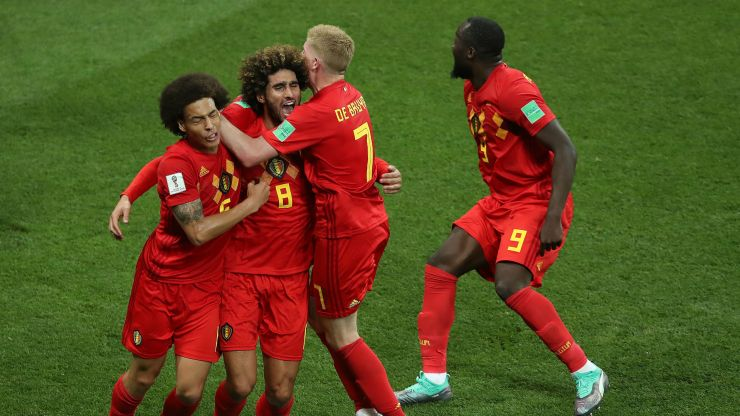 Image result for fellaini belgium 2018 getty