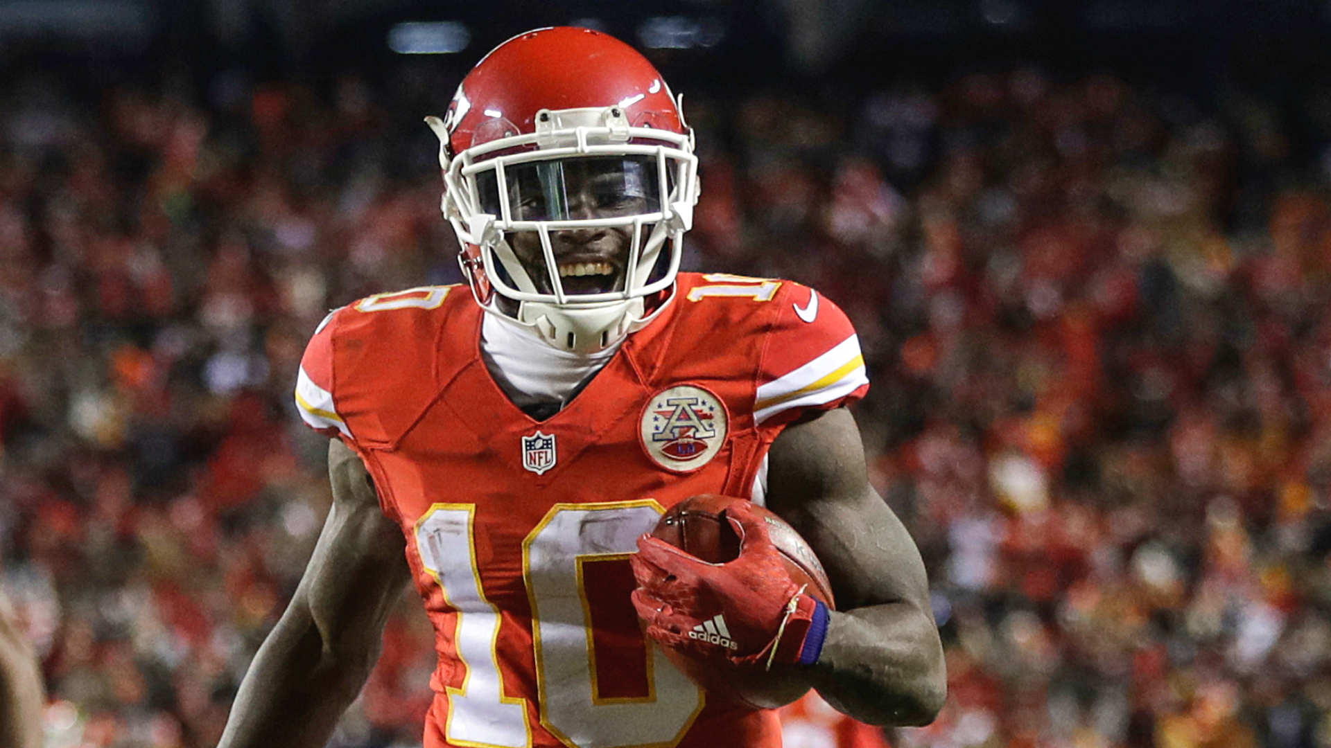 Image result for tyreek hill laughing