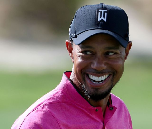 Watch Tiger Woods Takes Full Swings On Range With Kevin Chappell